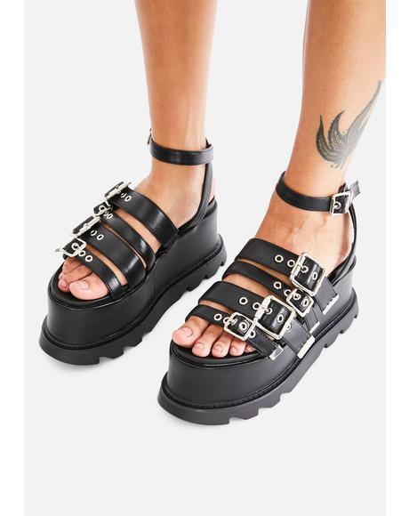 Needin' Ya Platform Sandals