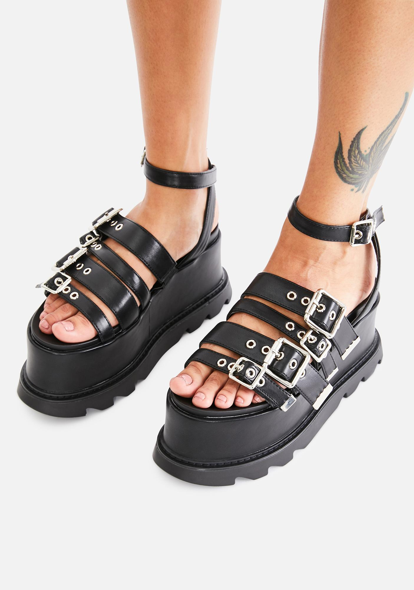 Lamoda Needin' Ya Platform Sandals