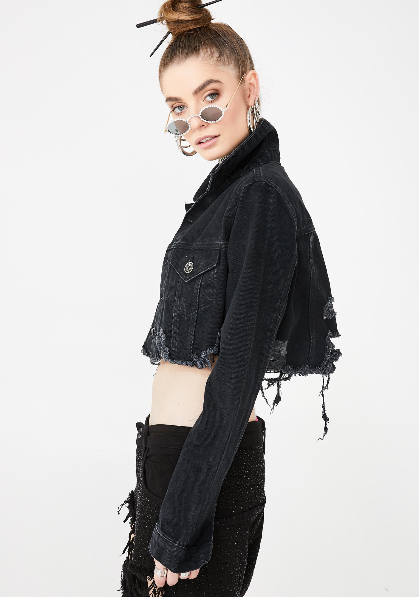 Kiki Riki Forget You Denim Jacket