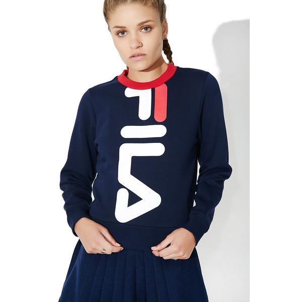 Fila Mona Cropped Sweatshirt