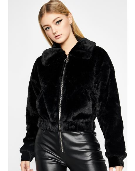 Make You Jealous Faux Fur Jacket