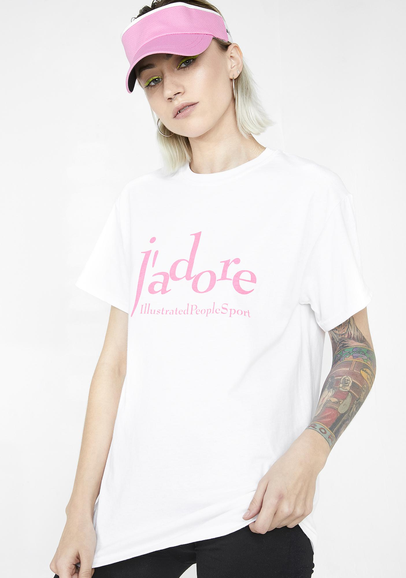 Illustrated People J'adore Sport Tee