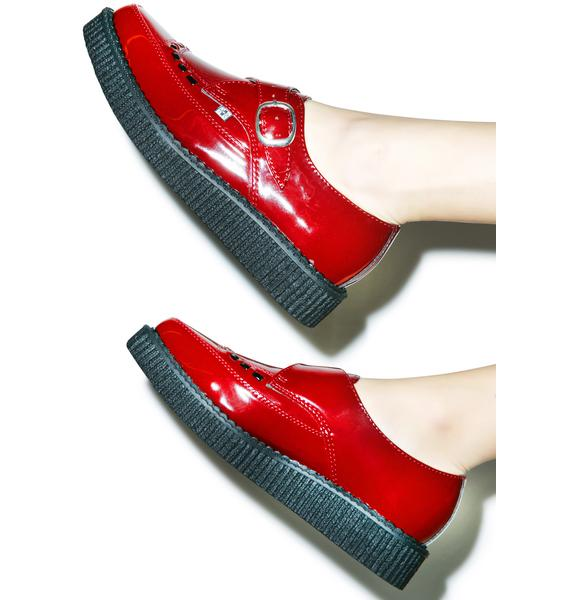 T.U.K. Patent Pointed Toe Creepers