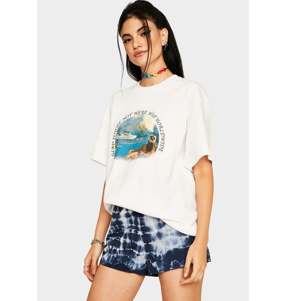 HUF Glad You're Not Here Graphic Tee