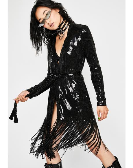 Ibiza Nights Sequin Duster