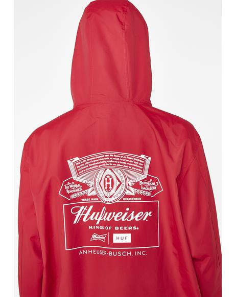 x Budweiser Label Anorak Jacket