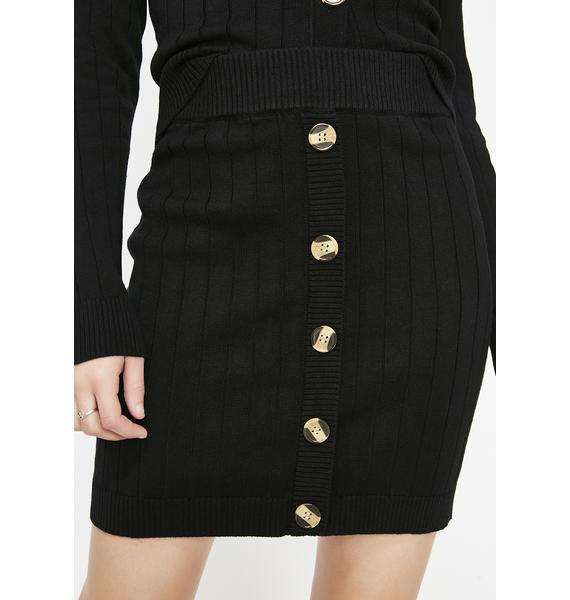 Put In Work Ribbed Skirt