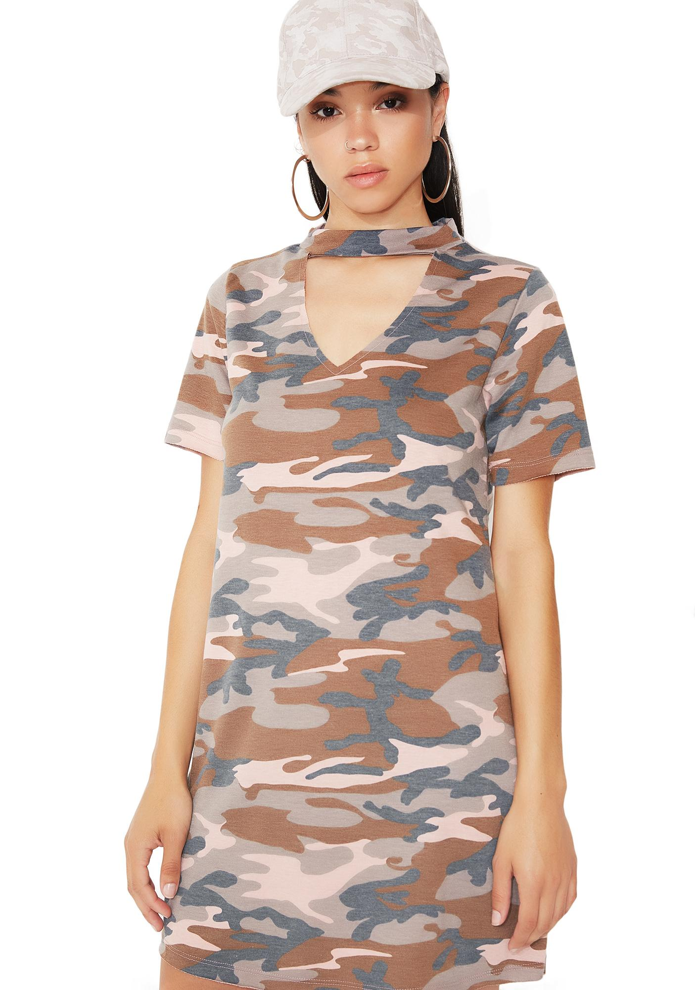 Over N' Out T-Shirt Dress