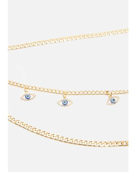 Welcome Sight Layered Necklace
