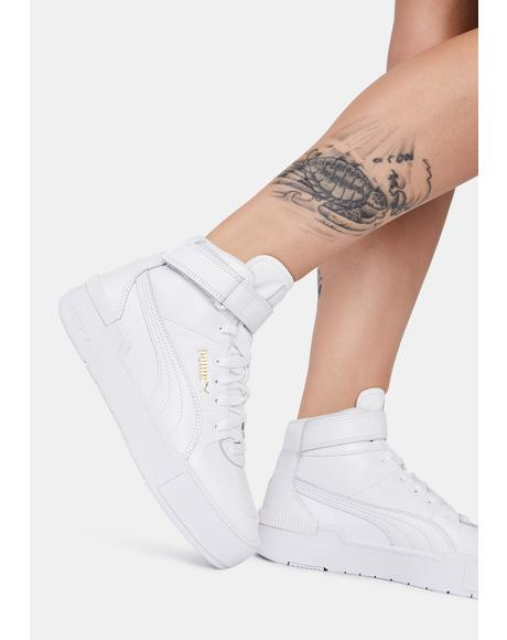 Cali Sport Warm Up High Top Sneakers