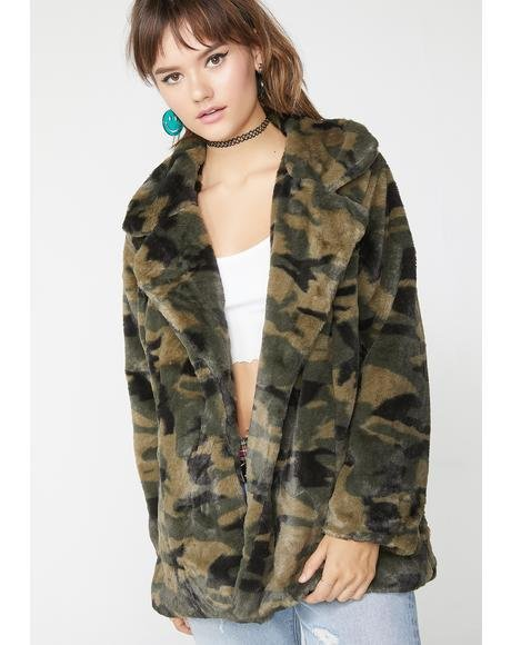 Anything Goes Camo Coat