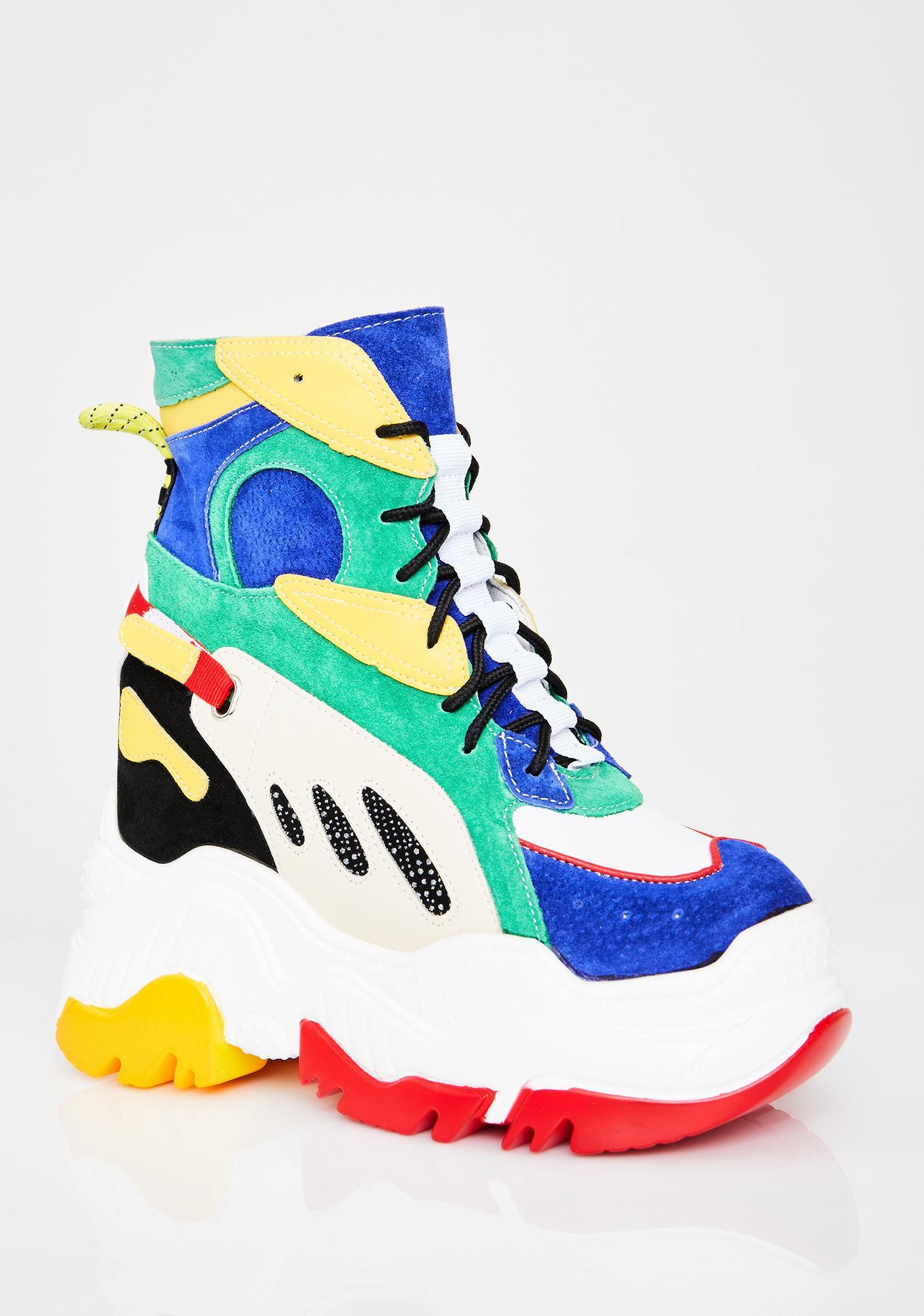 Anthony Wang Woah Platform Sneakers