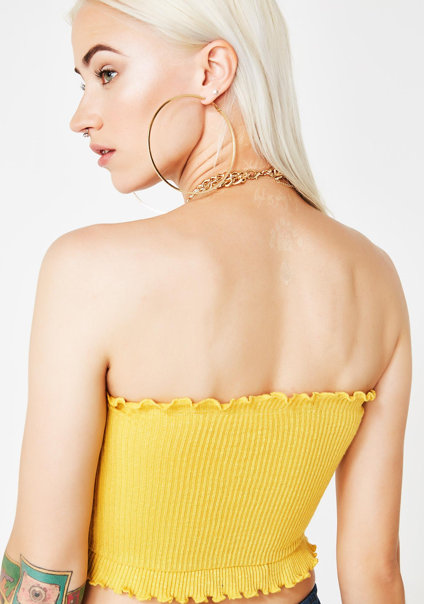 Sunny First String Ribbed Top