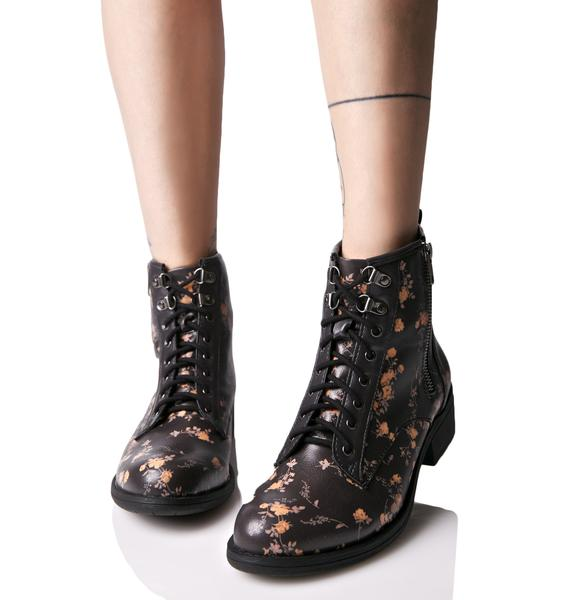 Matisse Primrose Lace-Up Boots
