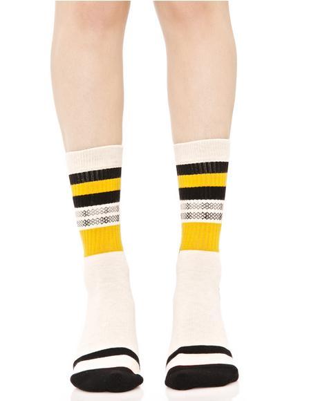 Hana Classic Crew Socks