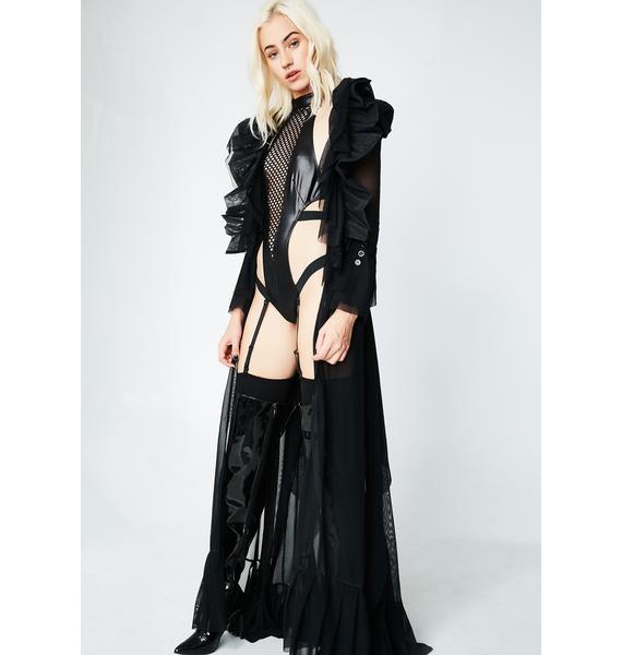 Darkest Hour Mesh Robe