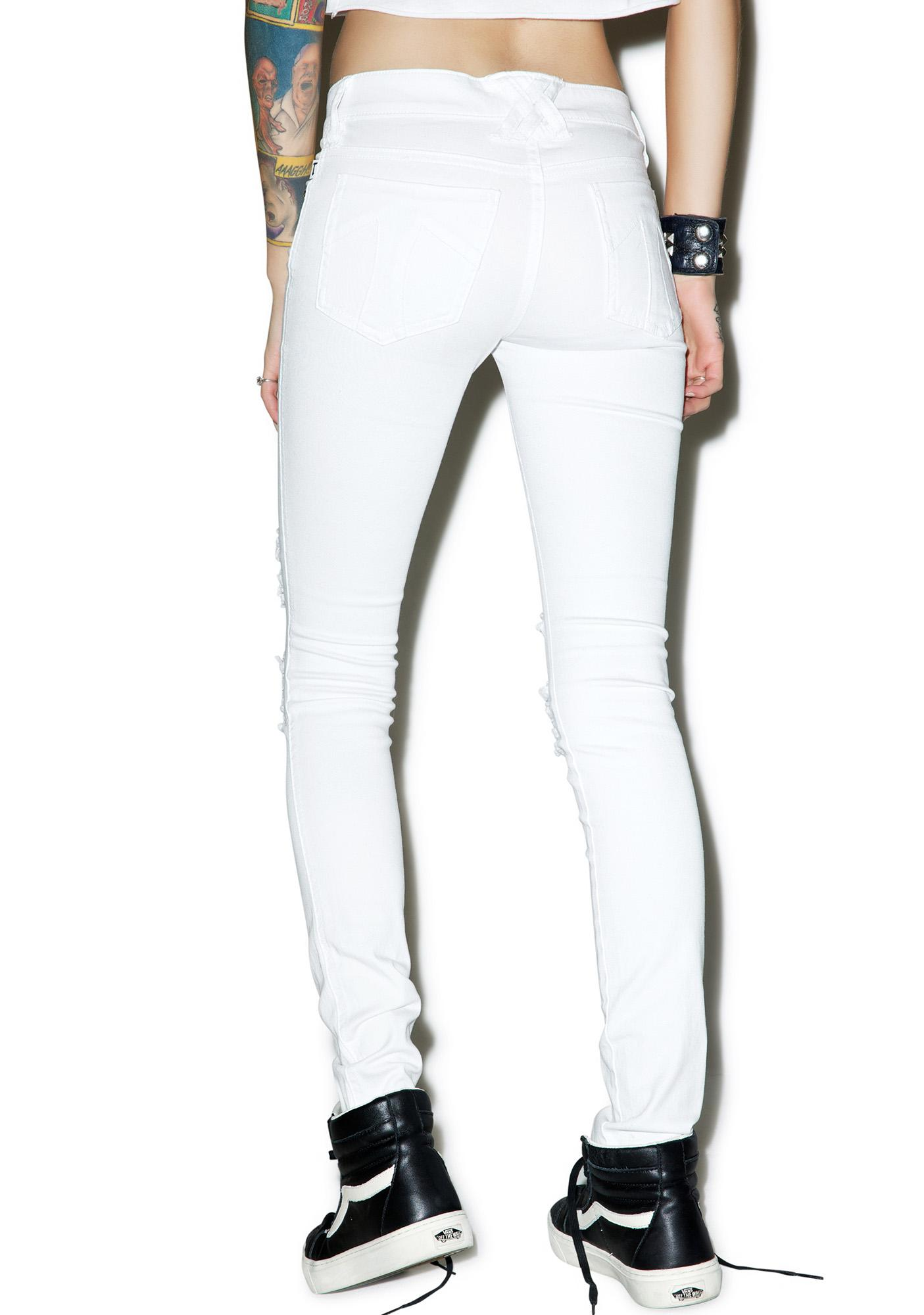 Tripp NYC Knee Slit Jeans