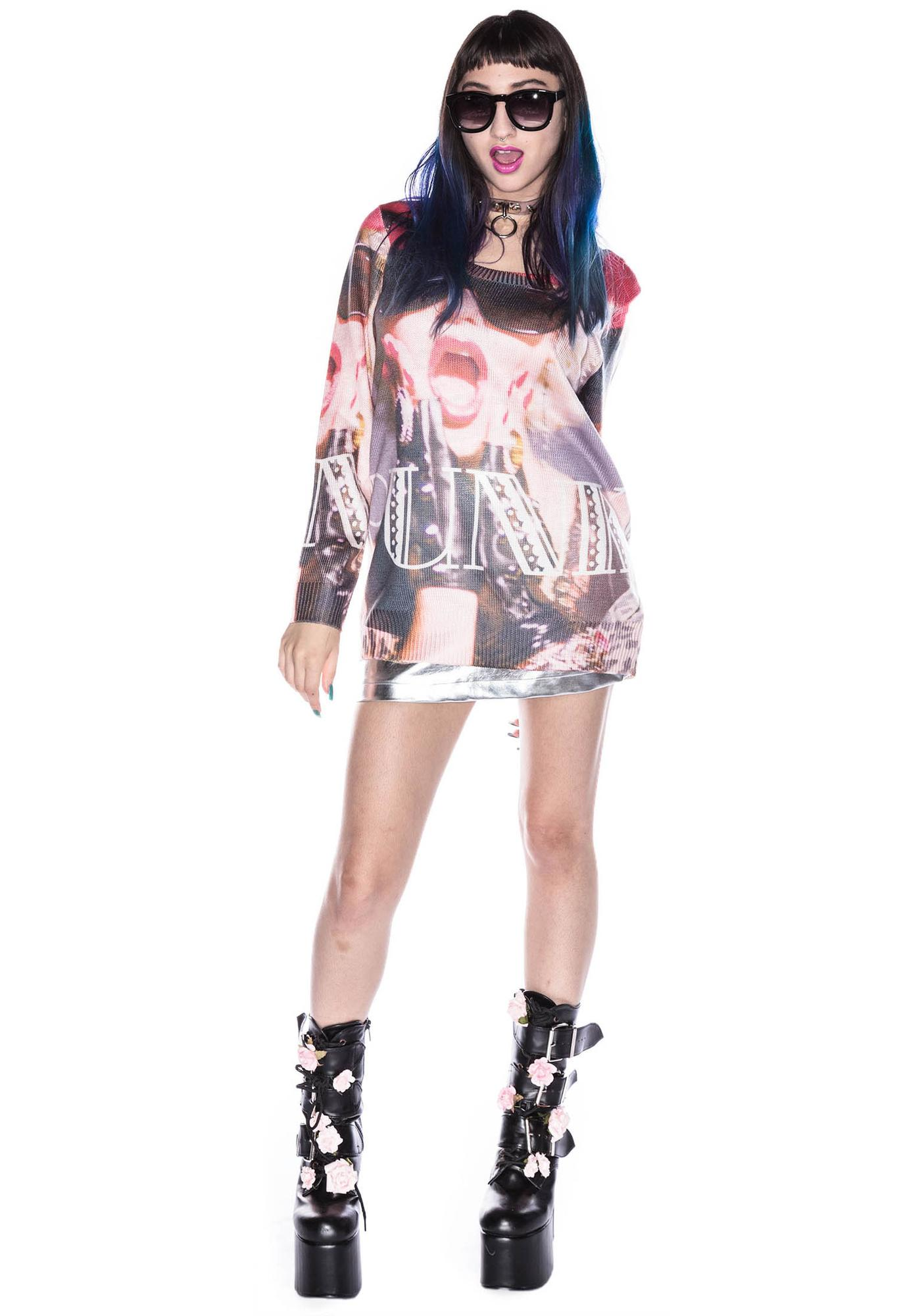 Joyrich Punk Girl Sweater