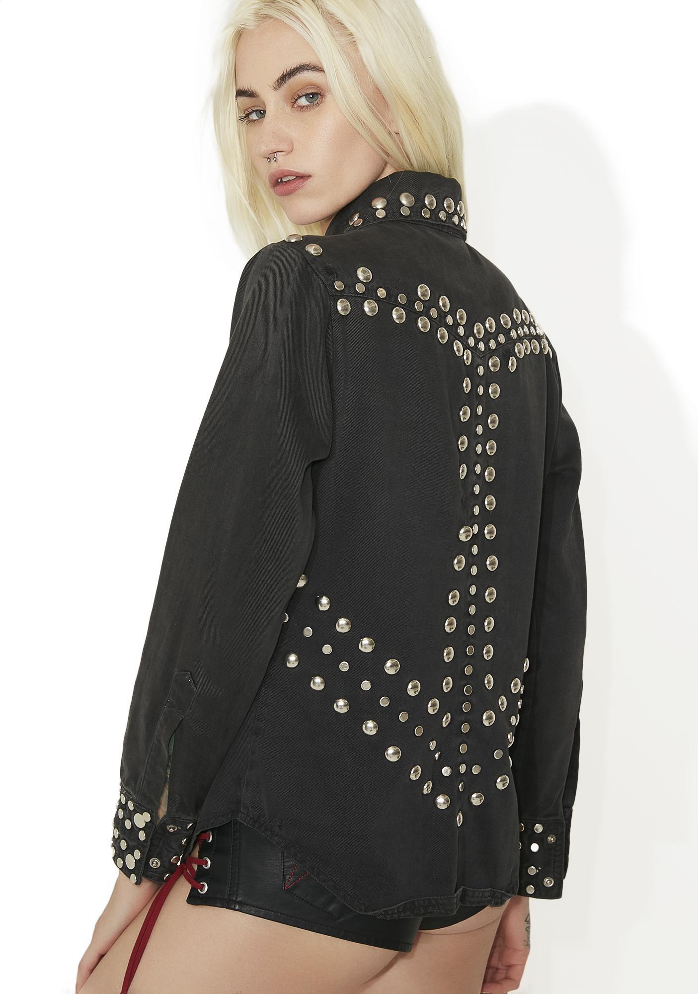 Vintage 70s Studded Jacket