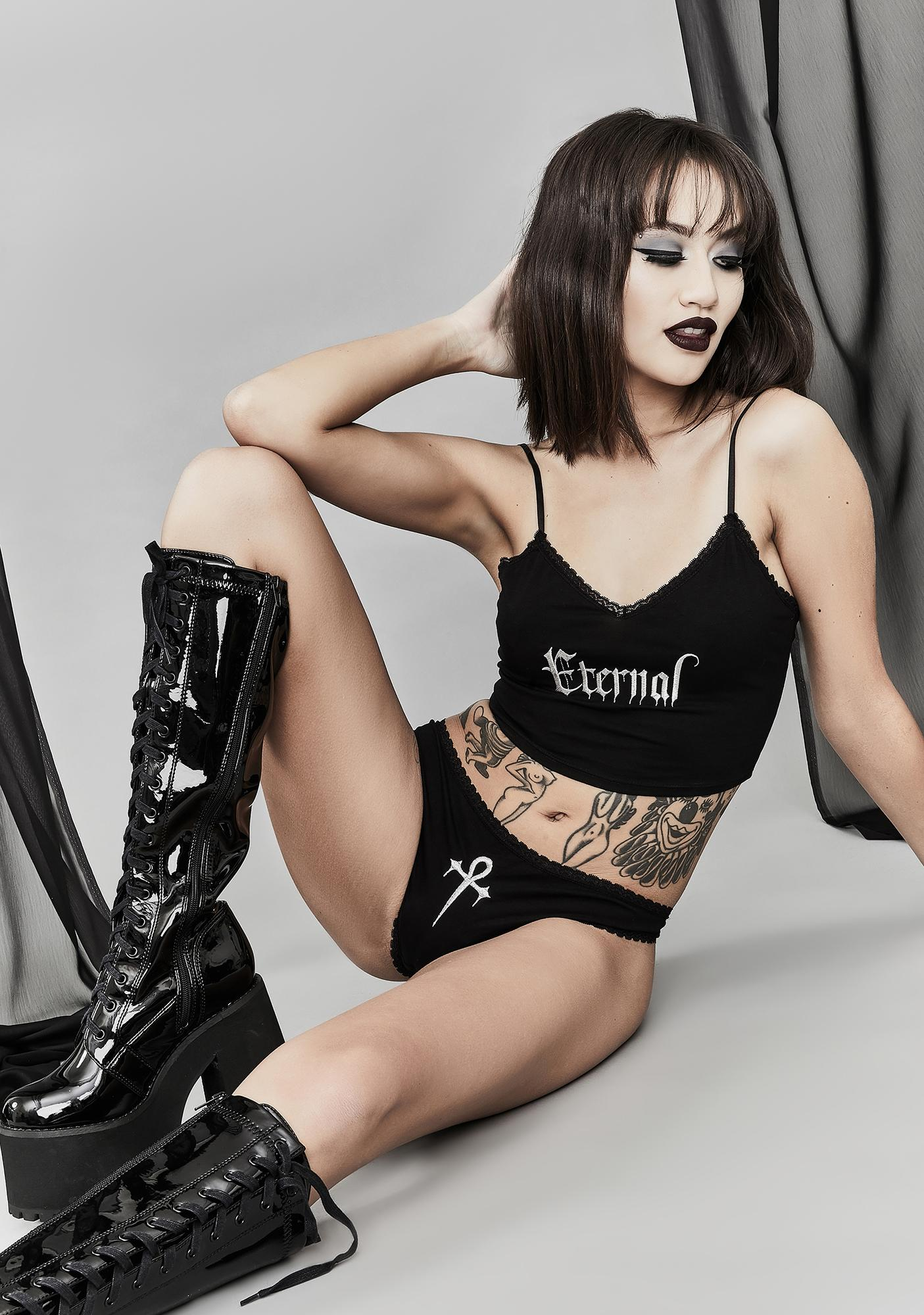 Widow Everlasting Evil Lingerie Set