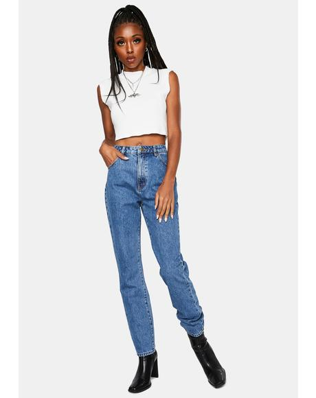 Meadow Blue Organic Dusters Denim Jeans