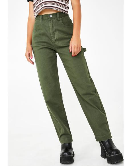 Working Girl Carpenter Pants