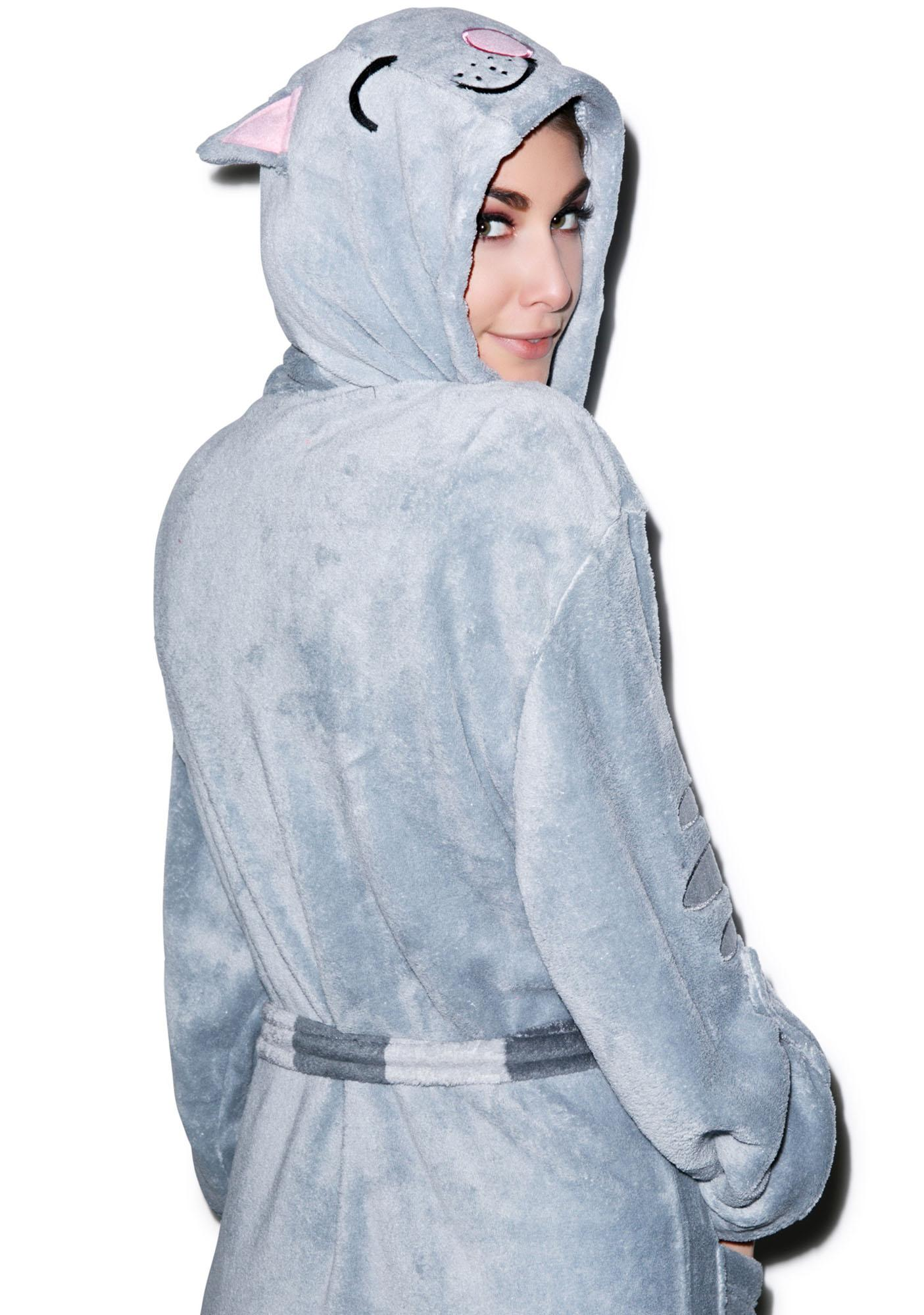 Undergirl The Big Bang Theory Cat Hooded Robe