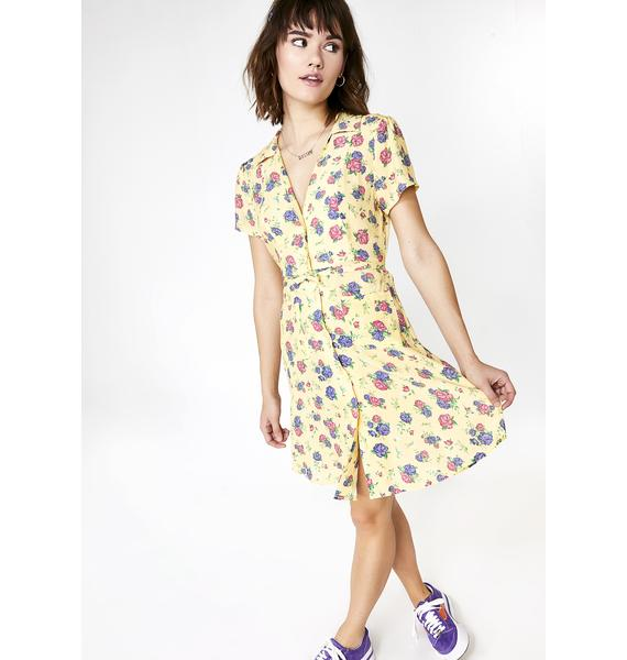 dELiA*s by Dolls Kill Garden State Floral Dress
