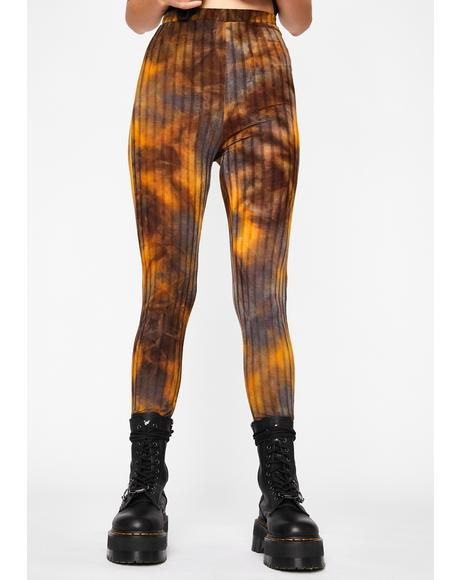 Toxic Trip Printed Leggings