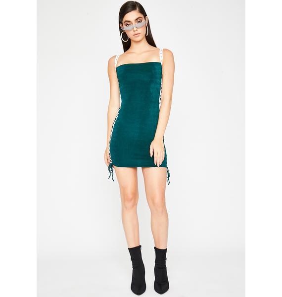 Make 'Em Go Crazy Mini Dress