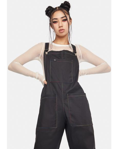 Stitched Up Dungarees