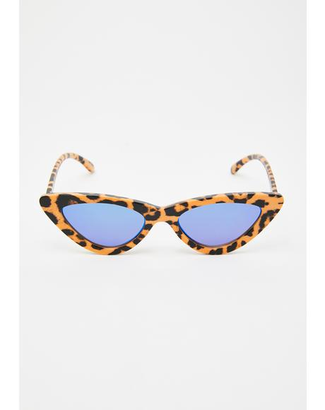 Feline Spicy Cat Eye Sunglasses