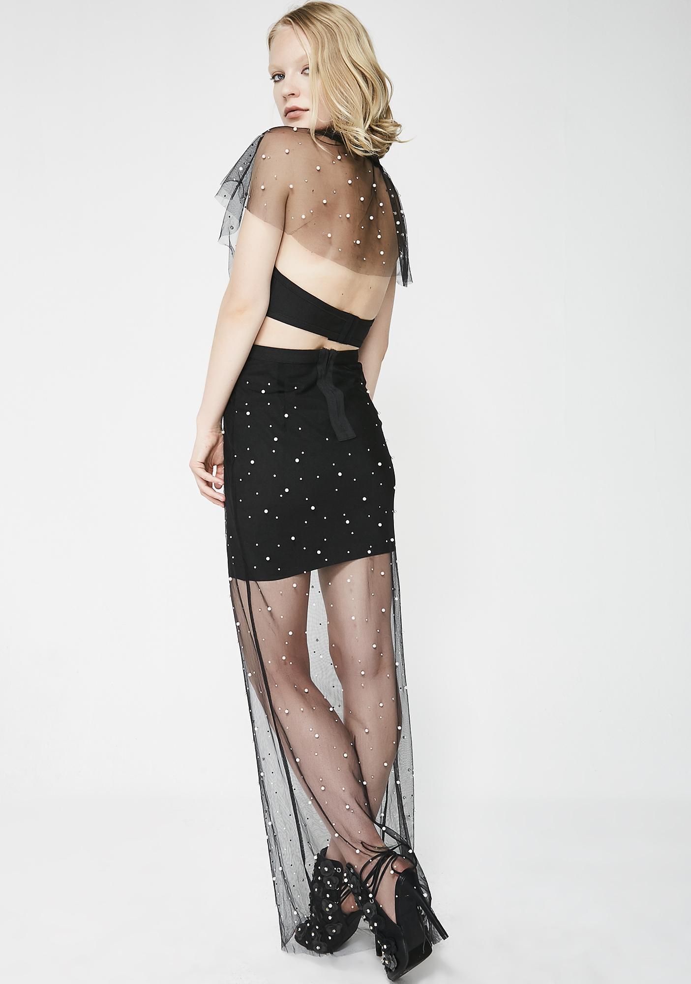 Precious Moments Pearl Maxi Dress