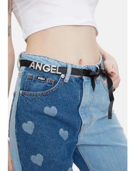 Blessed By The Best Angel Waist Belt