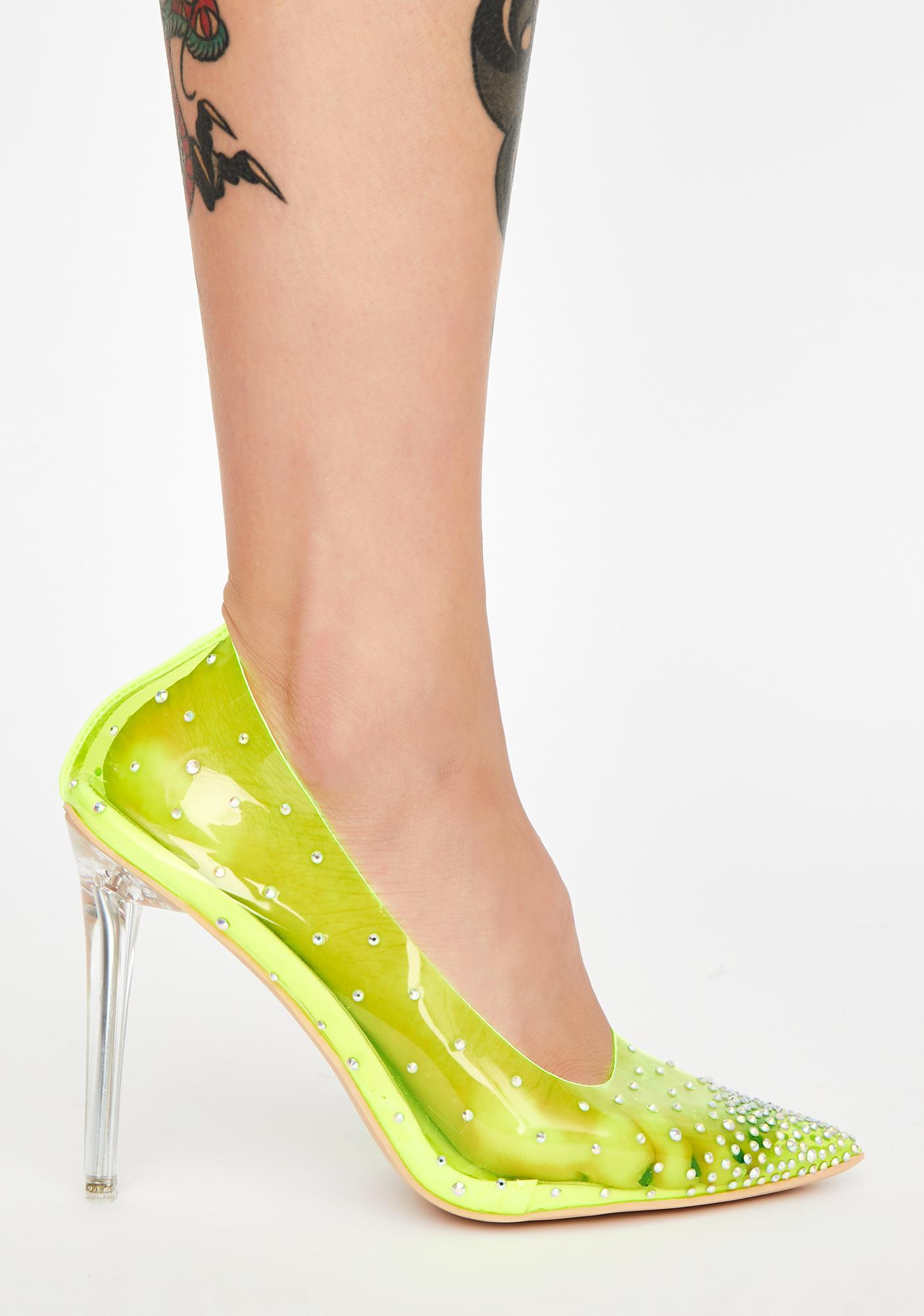 AZALEA WANG Freshly Neon Heels