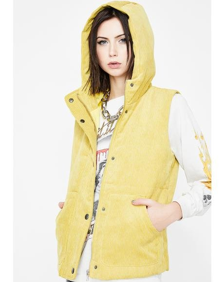 Cool Grl Vibes Puffer Vest