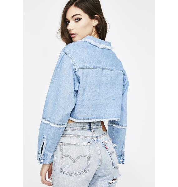 Addicted To Ya Denim Jacket