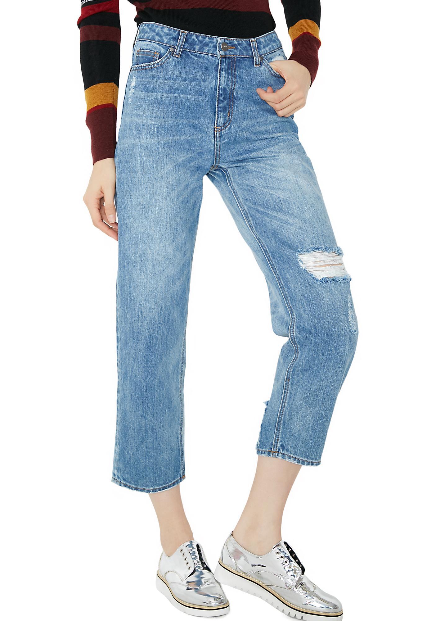 EVIDNT Boot Leg Jeans