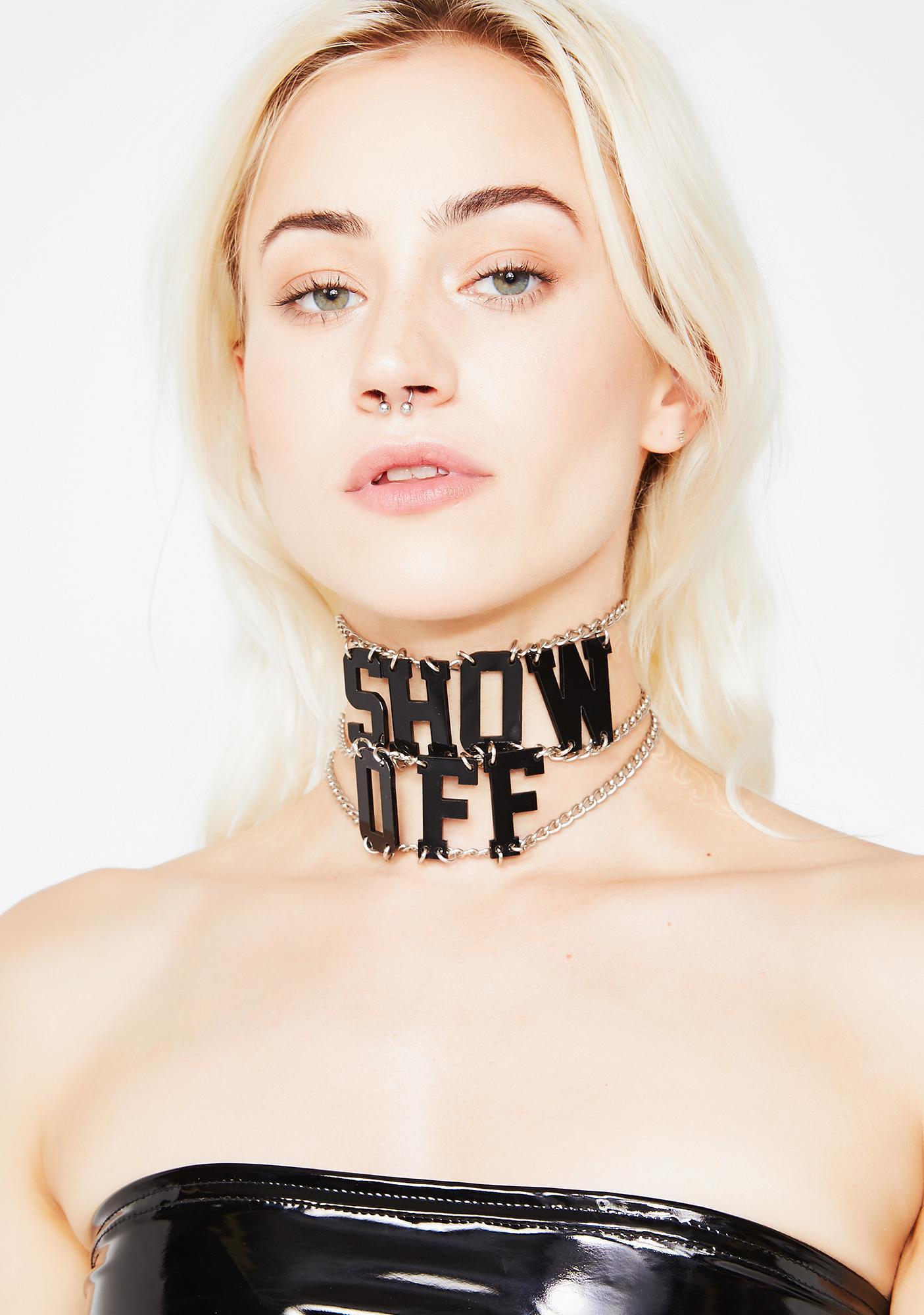 Ivy Berlin Show Off Choker