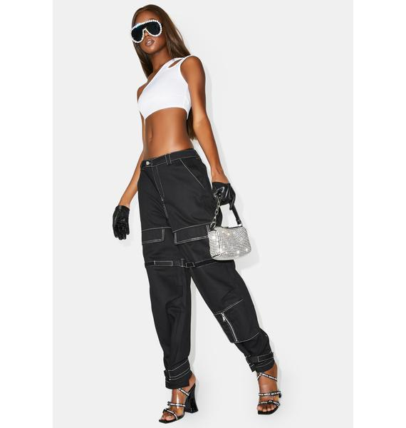 Poster Grl Mob Up Cargo Pants