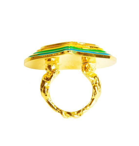 Paradise Heart Ring