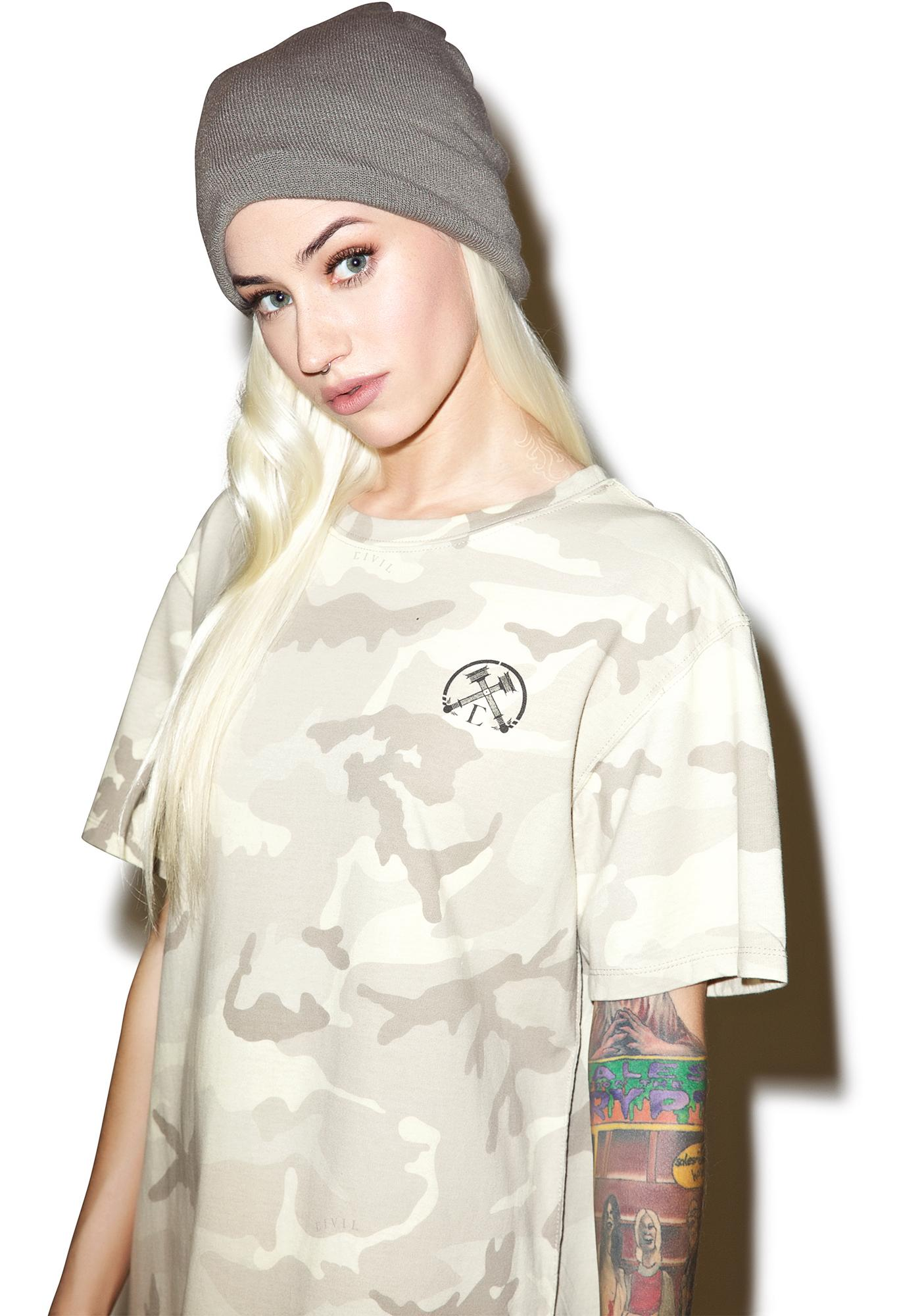 Civil Clothing Wrecked Drop Tee