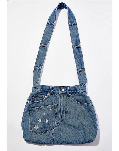 Blue Jean Baby Denim Bag