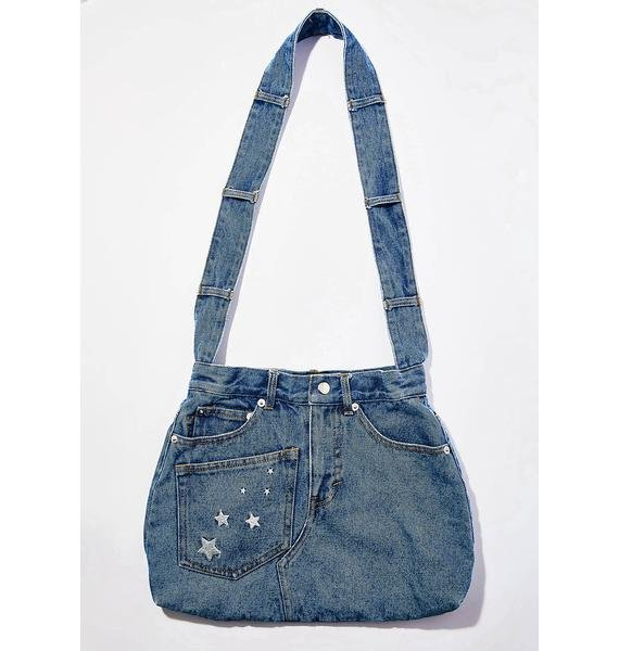 Current Mood Blue Jean Baby Denim Bag