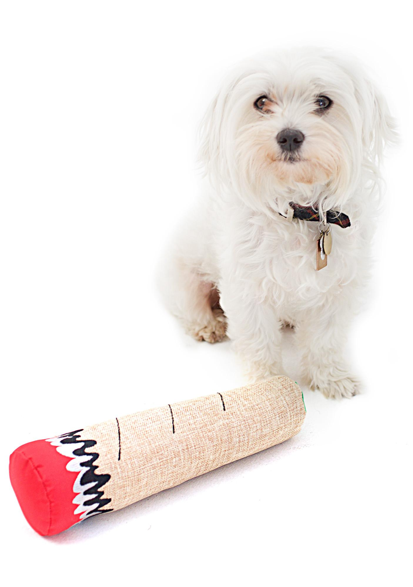 Dooby's Dog Toys Hemp Dog Toy Joint