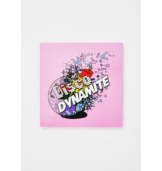 Glisten Cosmetics Disco Dynamite Palette