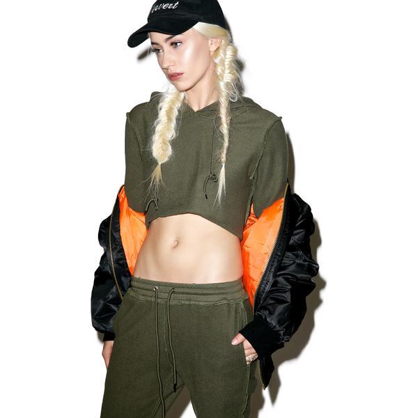 Danielle Guizio DG Forest Sweatsuit