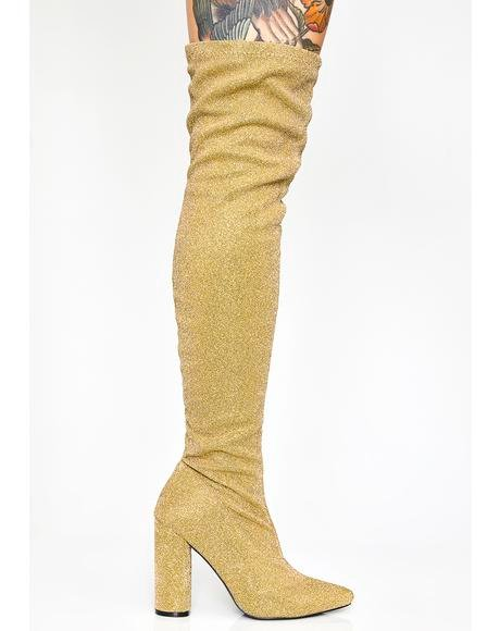 420c0215e1a0 Golden Glambition Thigh High Boots Golden Glambition Thigh High Boots ...
