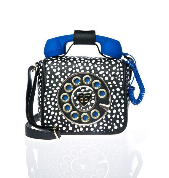 Betsey Johnson Dottie Hotline Crossbody Bag