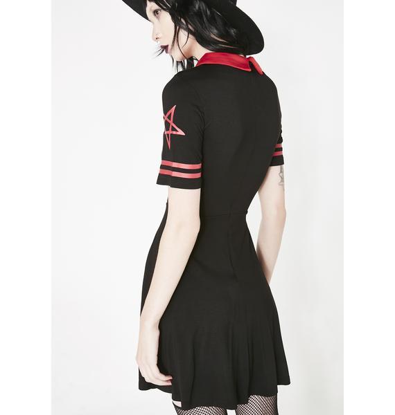 Killstar Dead City Skater Dress